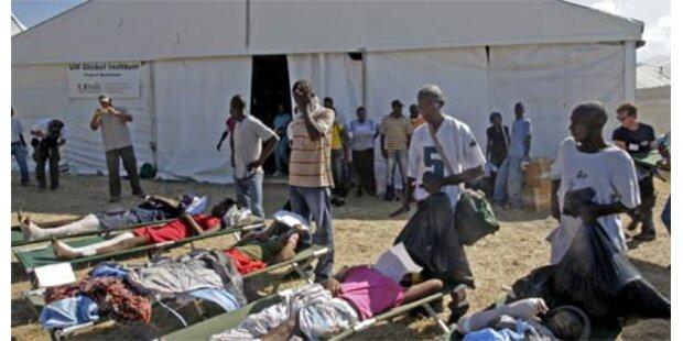 Jetzt läuft Haiti-Hilfe aus Ö voll an