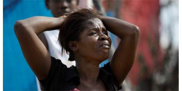 Weltweite Hilfe für Haiti angelaufen