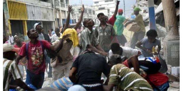 Wieder Nachbeben von 4,9 auf Haiti