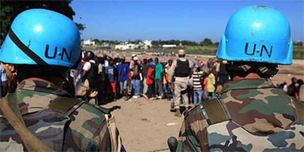 UNO-Soldaten brachten Cholera nach Haiti