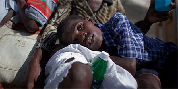 Mehr als 900 Cholera-Tote in Haiti