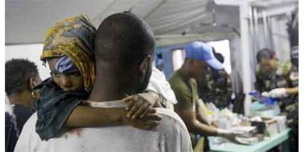 Österreichische Hilfe auf Haiti läuft an