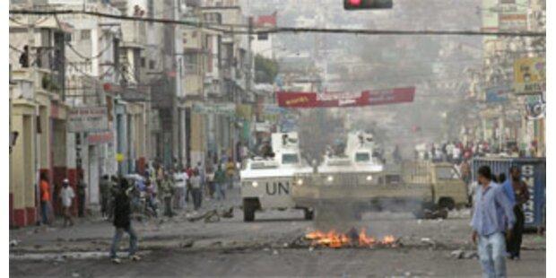 Aufstand gegen den Hunger in Haiti