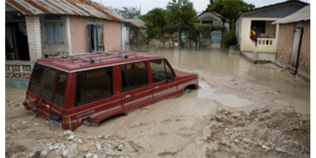Sturm Hannah fordert 61 Tote in Haiti