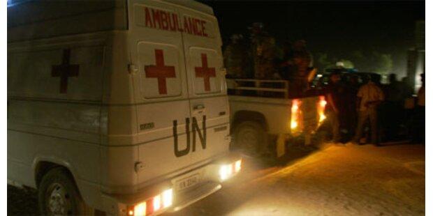 UNO-Jet zerschellt an Berg auf Haiti