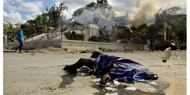 Verzweiflung macht sich in Haiti breit