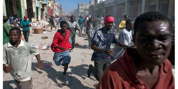 Notstand in Haiti ausgerufen