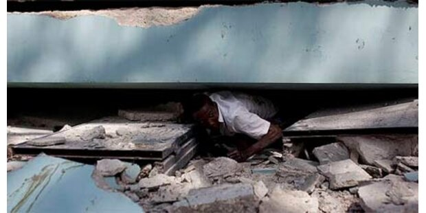 Fünfjähriger auf Haiti geborgen