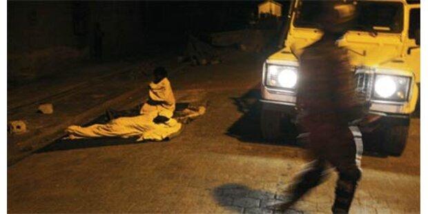 Polizei erschießt Mann mit Reis-Sack