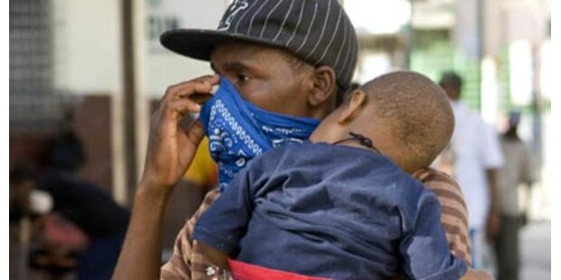 Helfer fürchten Ausbruch von Seuchen