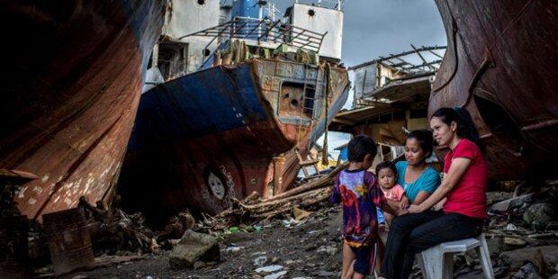 Zwei Millionen Obdachlose nach Taifun