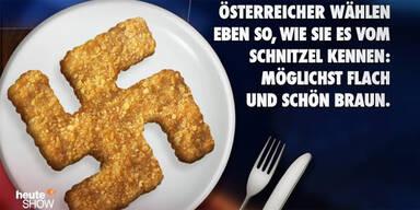 Tiroler Student klagt Hakenkreuz-Schnitzel