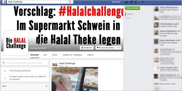 """""""Halal-Challenge"""": Rechte sorgen für Skandal"""