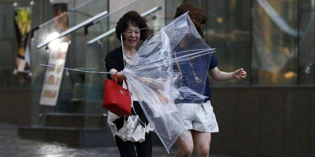 10 Tote nach Taifun