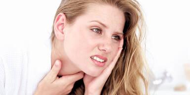 Was tun, wenn der Hals schmerzt
