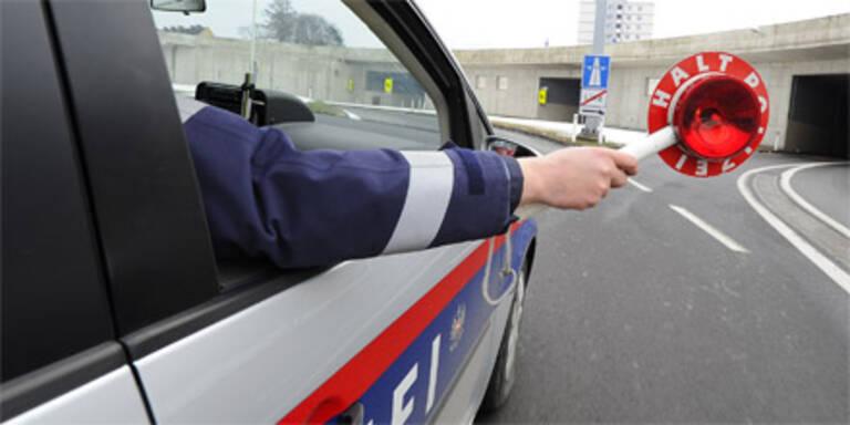 Einbrecher fuhr zu langsam: Verhaftet