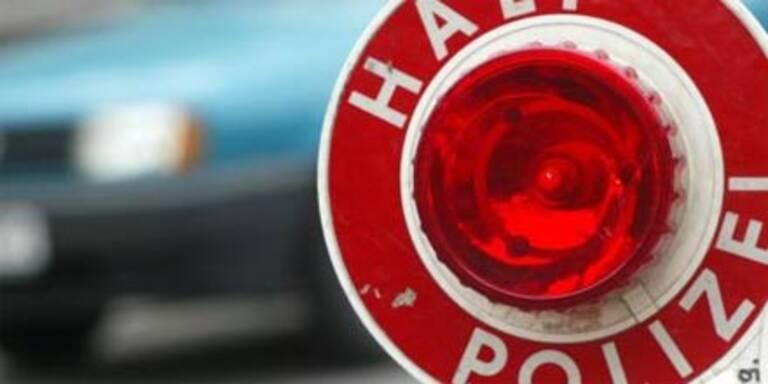 """Polizei stoppt zwei """"rollenden Bomben"""""""