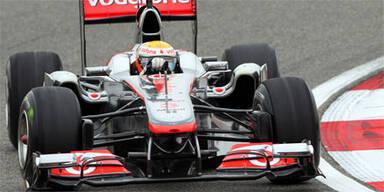 Hamilton siegt vor Vettel und Webber