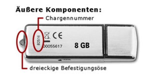 Gefälschte USB-Sticks jetzt auch von EMTEC