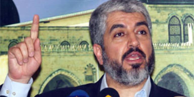Hamas-Politbüro-Chef Khaled Mashaal