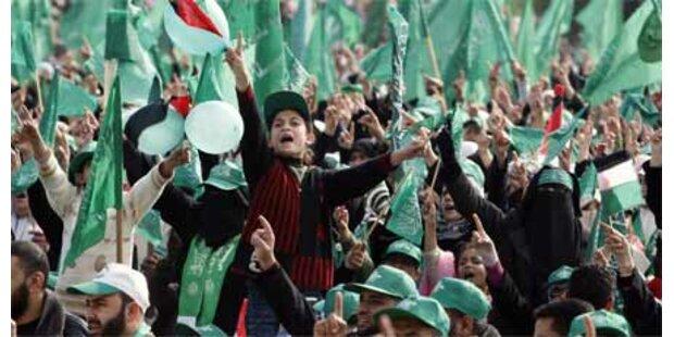 Hamas feiert 22-jähriges Bestehen