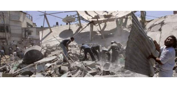 Explosion tötet vier Palästinenser in Hamas-Haus