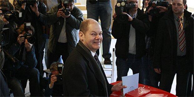 Erdrutsch in Hamburg: Absolute für SPD