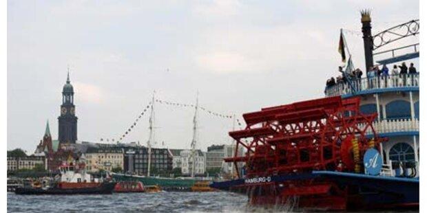 Sturm der Stärke 10 wütete in Hamburg