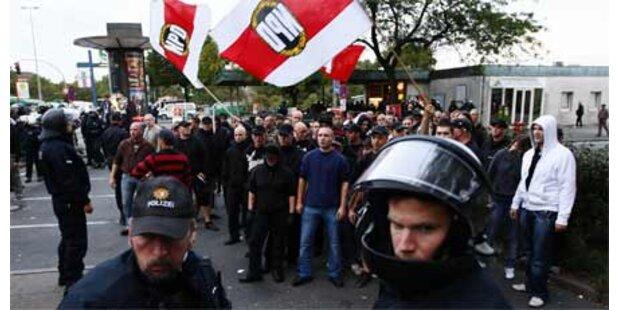 Krawalle nach Neonazi-Demo in Hamburg