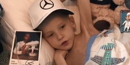 Hamilton widmet Sieg krebskrankem Kind