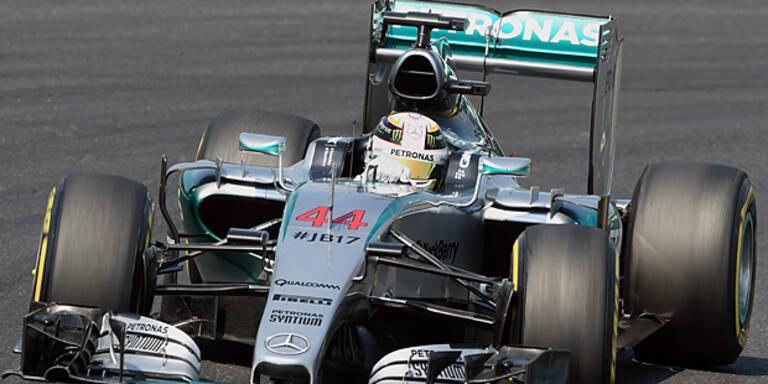 Hamilton mit Bestzeit in Monza