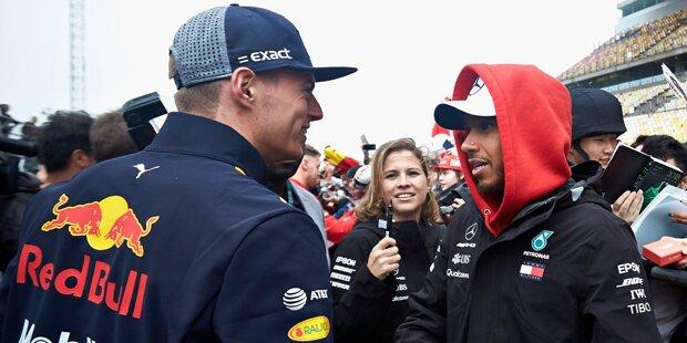 Aussprache: Hamilton traf Verstappen