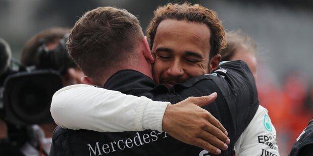 Dunkler Schatten über Hamilton-Triumph