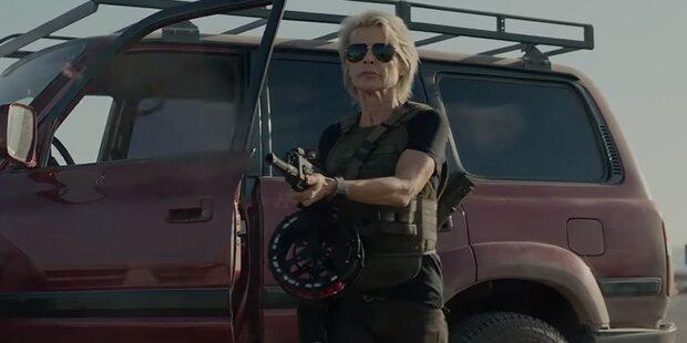 Linda Hamilton kehrt in neuem 'Terminator' zurück