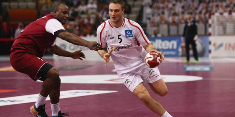 Handball-WM: Österreich knapp out