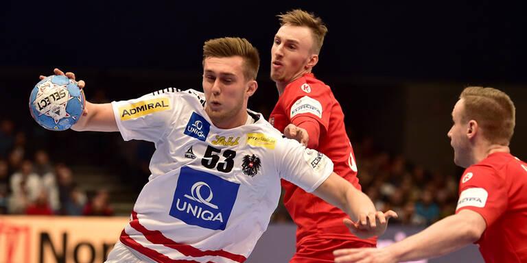 Handball: 32:29-Auftaktsieg Österreichs bei Männer-EM über Tschechen
