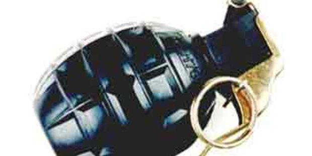 Mann bedrohte Nachbarin mit Handgranate