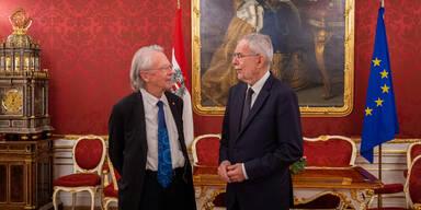 Bundespräsident Van der Bellen lud zum Abendessen für Peter Handke