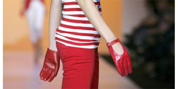 Handschuhe trotz Hitze? Aber klar!