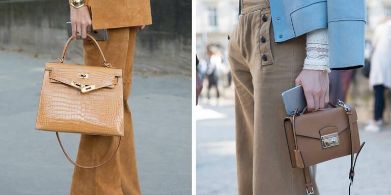 Die Handtaschen -Trends im Herbst