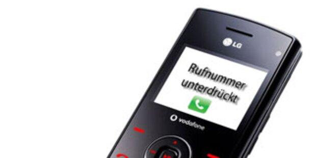 AK fordert Maßnahmen gegen Rufnummernunterdrückung