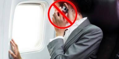 Kein Handy in Lufthansa-Fliegern
