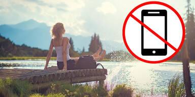 Gratis-Urlaub für Handy-Verzicht