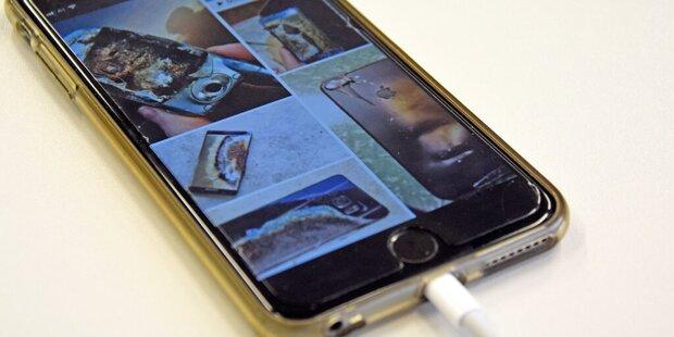 Brandgefahr durch Smartphones und Co. enorm