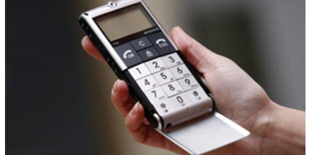 Erstes Wegwerf-Handy für Europa