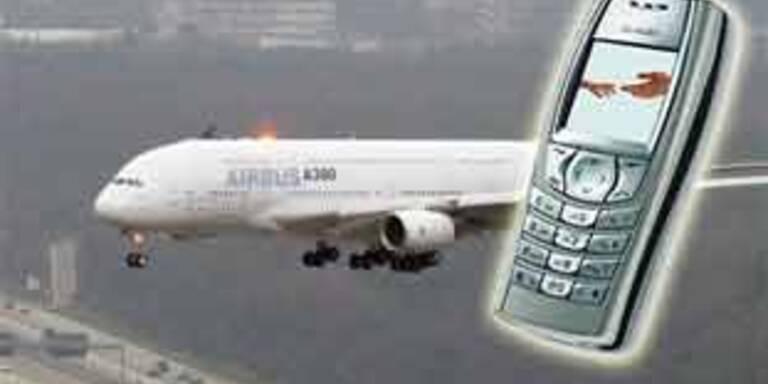 AUA lehnt Handys im Flugzeug weiterhin ab