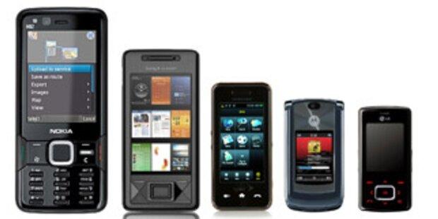 Die neue Handy-Sommerkollektion fürs mobile Internet