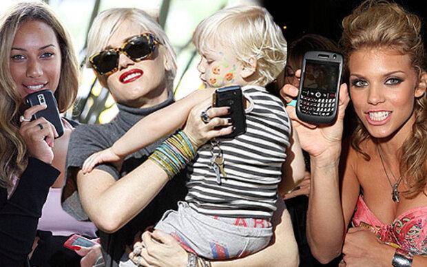 Was würden Stars ohne Mobile Phone tun?