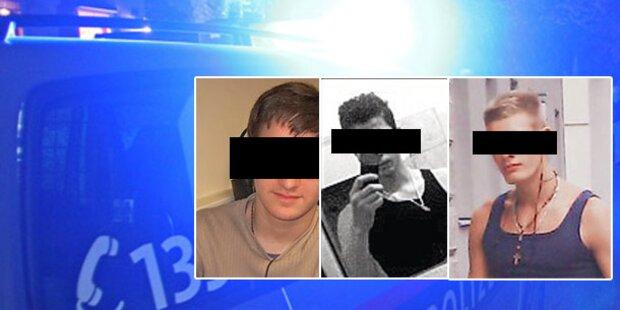 Wiens brutalste Handy-Bande geschnappt