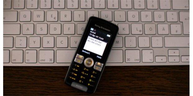 Trickbetrug mit Handys über Internetchat